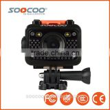 SOOCOO S60 WIFI Waterproof Action Cam with 2.4G Remote Control (Add 1*Battery 1*Camera Box 1*Charger 1*32G Card)
