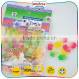 Animal series double color shaped soft jelly halal gummy candy