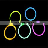 Fashion for concert 8 inch led glow stick bracelet with liquid light