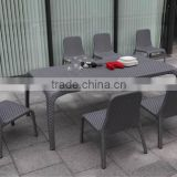 Shunde Outdoor Rattan/Wicker Furniture Garden Dining Table Set