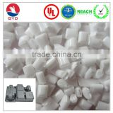Low halogen Fire Retardant PC chemical raw material suppliers, Opaque SGS polycarbonate pellets