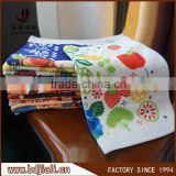Baoding factory supply printed microfiber bulk kitchen towel made in china