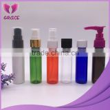 Plastic foam pump bottles shampoo cosmetic packing e-liquid juice dropper bottles spray lotion bottle