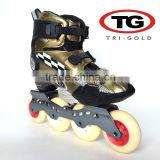 Plastic with imitation carbon fiber carbon fiber inline roller skates professional for sale