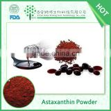 FDA Alibaba China supplier offering Nutritional Supplement Haematococcus Pluvialis Extract 2.5% Astaxanthin Powder