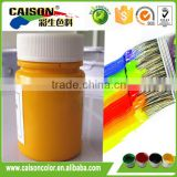 2kg plastic pot of Bronze yellow pigment coating color paste for paints