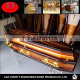 American style cremation casket funeral supplies