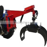 CE Small hydraulic tractor wheel loader log grapple