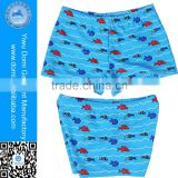 Good elastic casual boys swim briefs comfortable kids swim wear