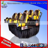 Guangzhou Leader Game 7D simulator de cinema 7d cinema equipment cinema 5D trailer for sale