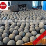 Jinan entered in the production of high quality more types of 150 mm forged steel ball used in steel mill grinding steel slag