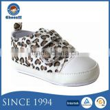 Designer Leopard Printed Soft Baby Shoes with Cotton Fabric Sole