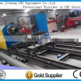 rectangular/slit cutting metal tube cnc plasma cutter machine