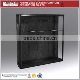 new design wood wall hanging display counter cabinet