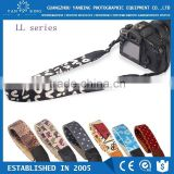Factory supply LYNCA LL series uppon leather material colorful neck camera strap for dslr camera