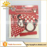 Mickey party banner decoration birthday string flags paper bunting