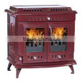 669 cast iron enamel wood heating stoves, water jacket stove, woodfireplace