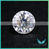 0.5ct Star Cut Super White Synthetic Moissanite Stones Price, Lab created diamond moissanite for fashion jewelry sale
