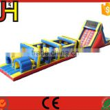 Outdoor adult inflatable obstacle course, commercial inflatable obstacle course, mega challenge inflatable sport arena for sales