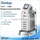 Micro Dermabrasion Water Oxygen Jet Machine ultrasionic Skin Scrubber Acne Treatment Microdermabrsion CE Approved