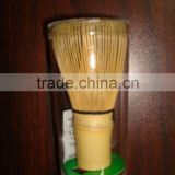 matcha tea powder toss tool bamboo brush utensil