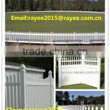 Hot Sale White Color PVC Solid Panel Fence, Private Fence, Privacy Fence/paineis de vedacao em pvc