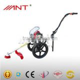 China lawn grass garden brush cutter machine on wheel ANT35 with CE