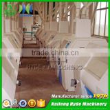 Fully automatic durum wheat roller flour mill