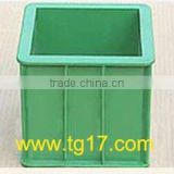 plastic concrete test cube mould