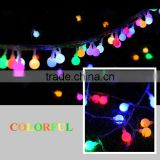 Copper cable high quality ball string light IP65 China supply Holiday Time Lights Clear Wire Led String Light