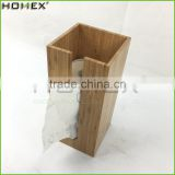 Toilet Paper Holder Standing in Bamboo Can Hold 3 Paper Roll/Homex_FSC/BSCI Factory