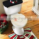 2015 Christmas gift Christmas Santa disposable toilet seat cover paper manufacturers Bathroom Decoration/Ornament