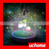 UCHOME Mushroom LED Night Light Change Color Table Lamp 3 LED Rechargeable Light with USB Line Bedroom Creative Baby Light