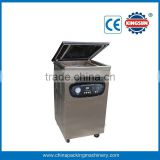 Single chamber food vacuum packaging machine