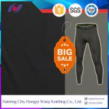 Black DTY Poly Spandex Four Way Strong Stretch Fabric For Leggings