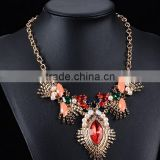 cool designed western style women ruby necklaces