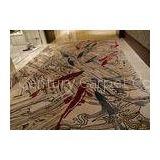 Soft Luxury Ballroom Hand Tufted Carpet , Nylon VS Wool Rugs For Hotel Decoration