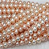 Freshwater Pearl Bead 4-5mm White Round Near Round Shell Pearl Strands Pearl Necklace Wholesale