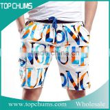Custom fashion cycling bib cool stylish jeans half pant design shorts