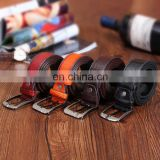 2016 Vintage Man Fashion Pin Buckle Genuine Leather Belt