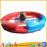 popular mechanical inflatable bull rodeo game fr sale