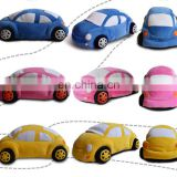 Factory Supply mini cooper stuffed plush car toys