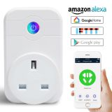 Smart WiFi plug UK standard work with Amazon Alexa Google Home IFTTT