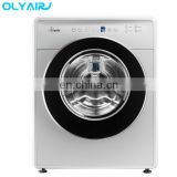 A++ 3Kg mini front loading washing machine with Blue, pink and white color