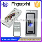 Stand alone waterproof outdoor fingerprint biometric reader metal rfid access control system