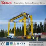 heavy lifting machinery container gantry crane 200t