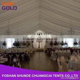 2015 Luxury customized clear span structures wedding tent outdoor large party tent Guangzhou