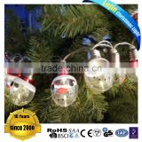 lovely bulb battery christmas led stain light for indoor decoration