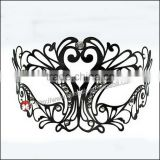 Orleans Laser-Cut Metal Black welding Female mask