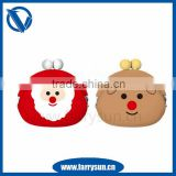 2015 Hot selling gifts purse for Christmas Day/wallets for Xmas day/wallet with coin pocket